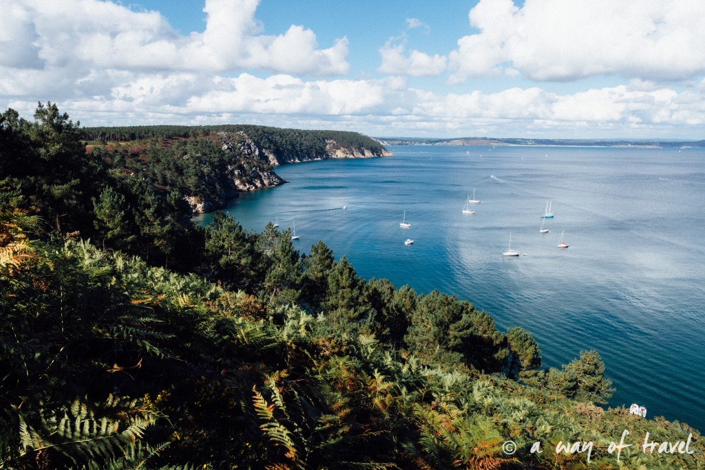 roadtrip bretagne cote bretonne guide plage port morgat-2